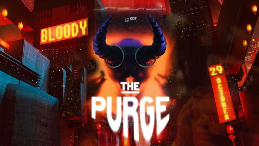 THE PURGE event cover