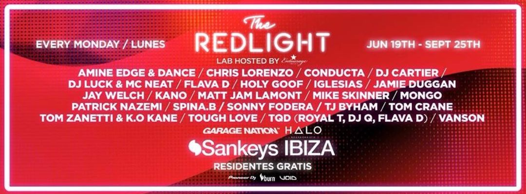 Cartel del evento The Redlight Closing Party