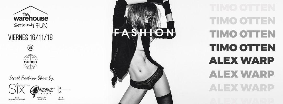 The Warehouse Fashion + Secret fashion show event cover
