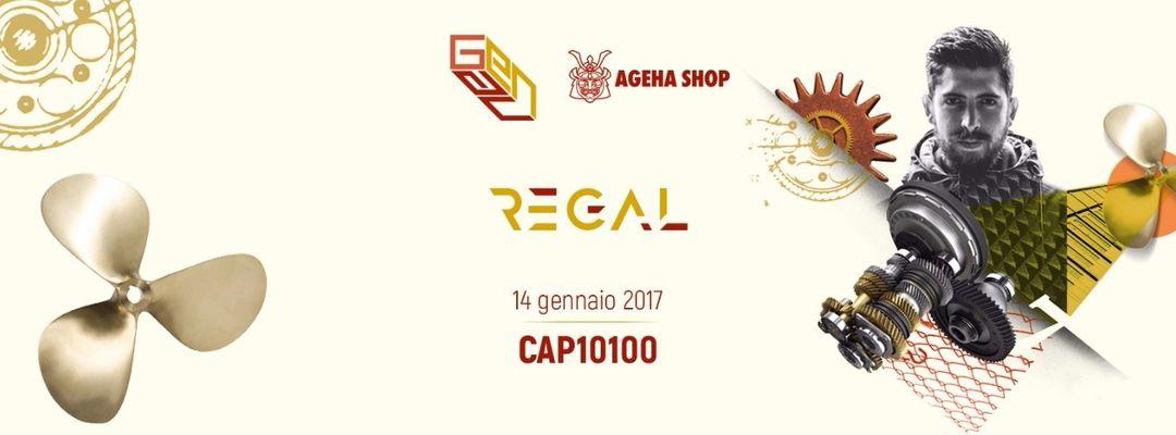 Theatreoftechno: Regal (Involve - Figure / ES) event cover