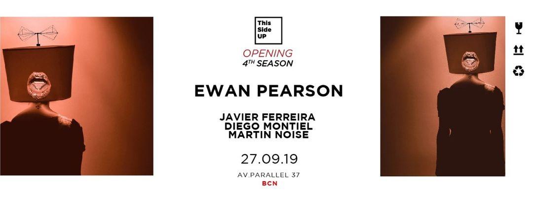 Cartel del evento This Side UP - 4th season opening - w/ Ewan Pearson
