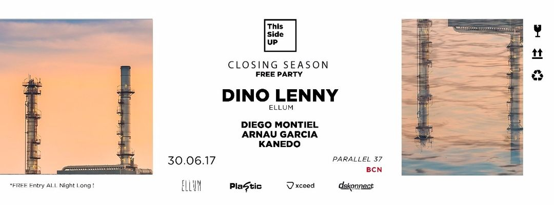 Cartel del evento This Side UP - Closing Season w/ Dino Lenny - Free Party