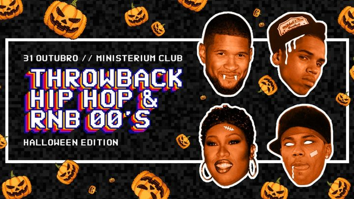 Cover for event: Throwback - Halloween Edition | 31 Outubro