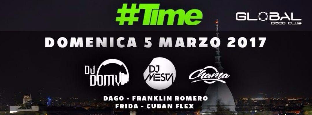 Cartel del evento #TIME