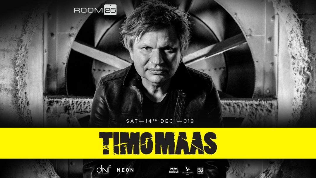 Timo Maas event cover