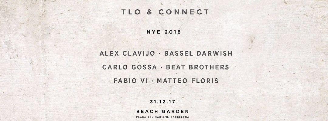 Cartel del evento TLO & Connect NYE 2018 at Beach Garden
