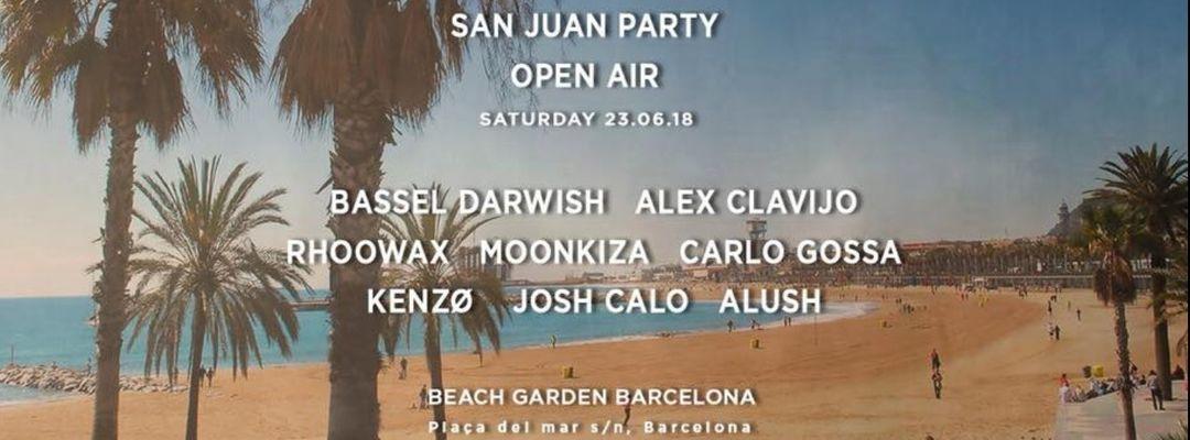 TLO pres. SAN JUAN 2018 at Beach Garden event cover
