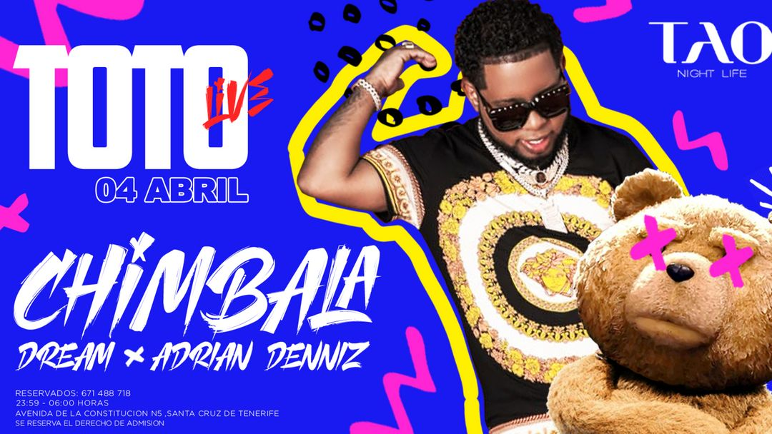 TOTO Live - CHIMBALA  event cover