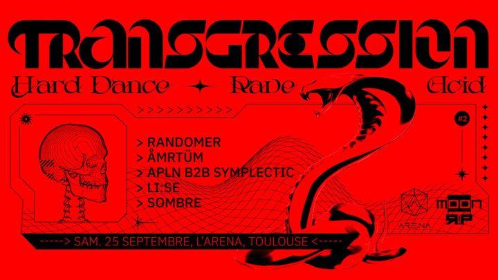 Cover for event: Transgression w/ Randomer & ÅMRTÜM