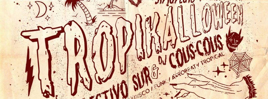 Cartel del evento Tropikalloween