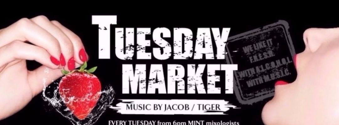 Capa do evento Tuesday Market | Music by Jacob / Tiger