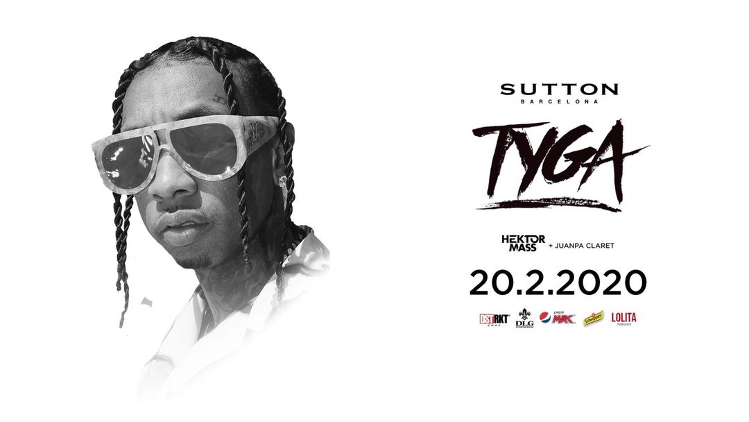 Cartel del evento Tyga | Sutton Barcelona