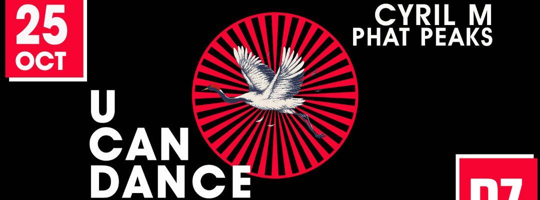 Capa do evento U CAN DANCE Phat Peaks (Special Birthday) @PZ city club