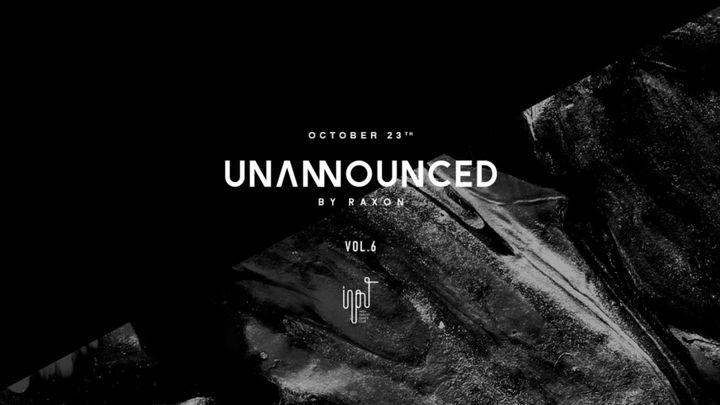 Cover for event: UNANNOUNCED vol 6