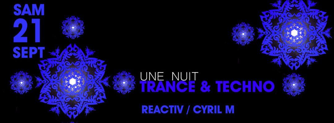 Une Nuit Trance & Techno @PZ city club event cover