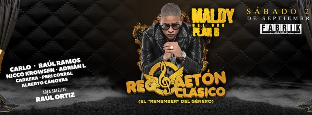 Universiparty  |  Reggaetón Clásico-Eventplakat