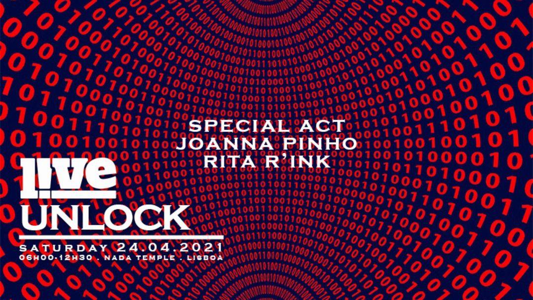 UNLOCK LIVE Lisboa event cover
