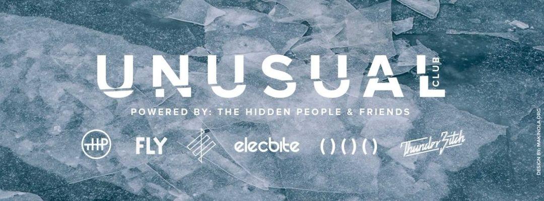 Cartel del evento Unusual Club by The Hidden People & Friends