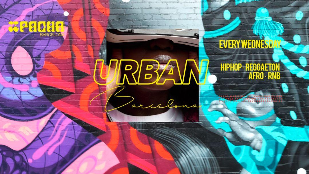Cartel del evento URBAN - Every Wednesday