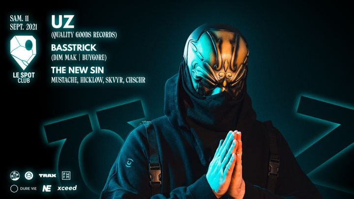 Cover for event: UZ + BASSTRICK + THE NEW SIN