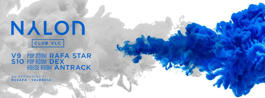 Cartel del evento V09: NYLON: Rafa Star