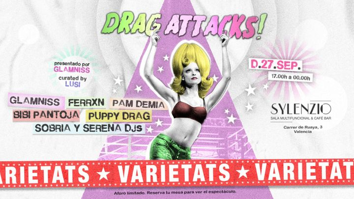 Cover for event: Varietats - Drag Attacks!