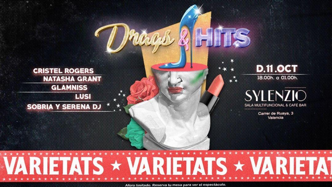 Cartel del evento Varietats - Drags & Hits