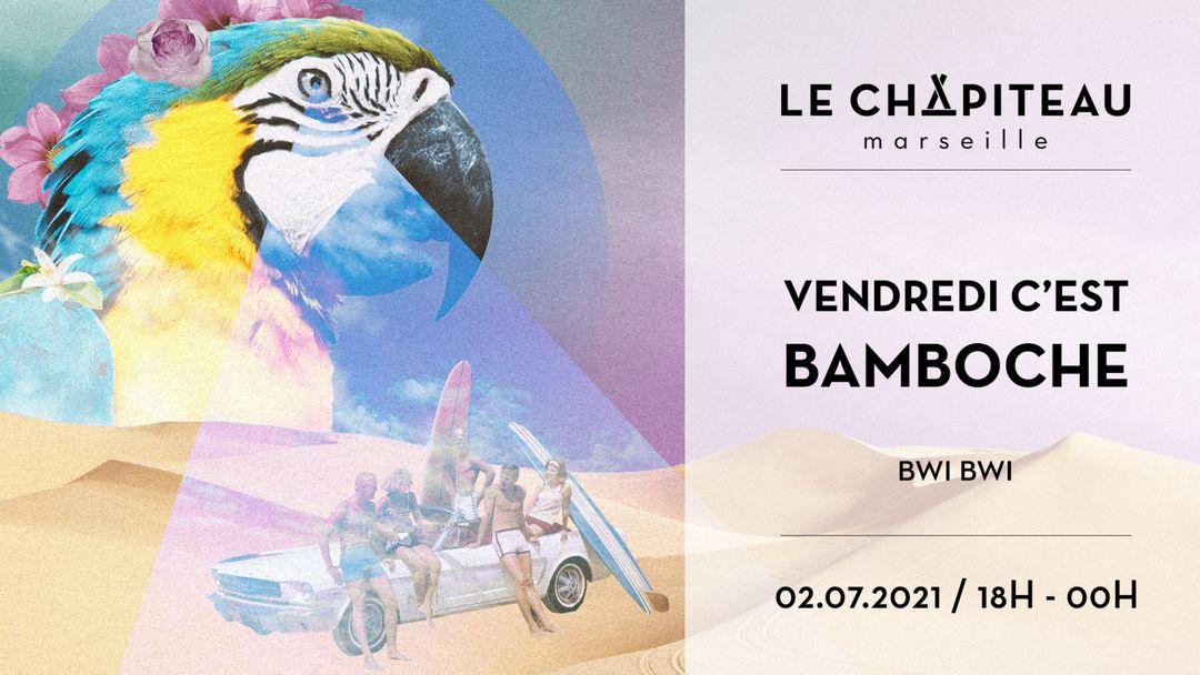 Capa do evento Vendredi c'est bamboche ! - w/ Bwi-Bwi