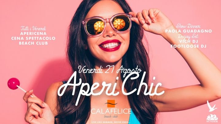 Cover for event: Venerdi Cala Felice AperiChic