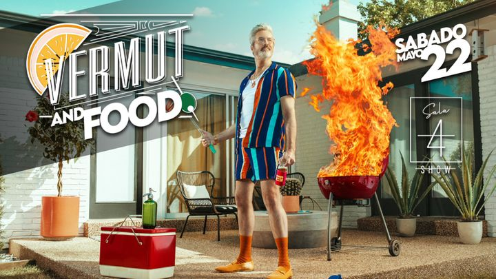 Cover for event: VERMUT and FOOD 22 de Mayo