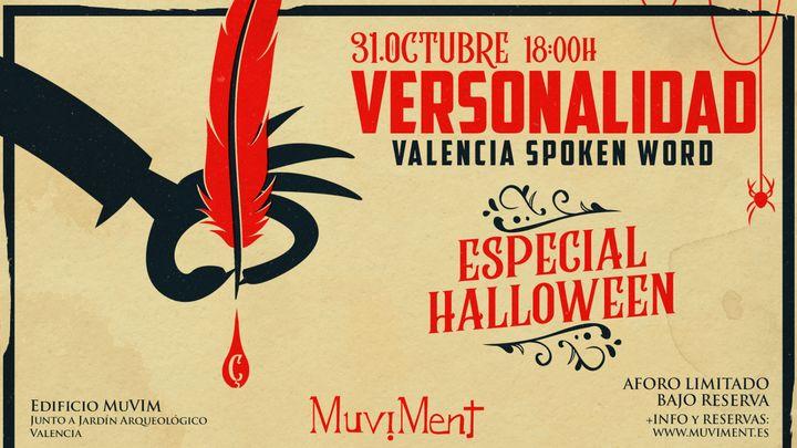 Cover for event: Versonalidad especial Halloween · Spoken Word Valencia