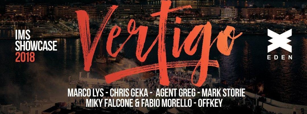Cartel del evento Vertigo   IMS Showcase Ibiza 2018