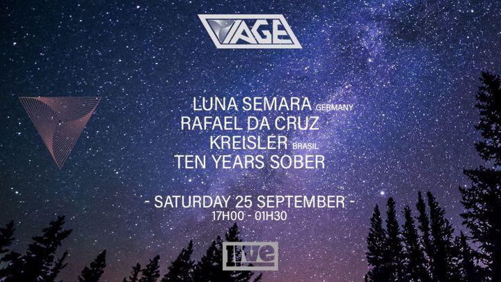 Cover for event: VIAGE w/ Luna Semara [Germany] + Rafael da Cruz