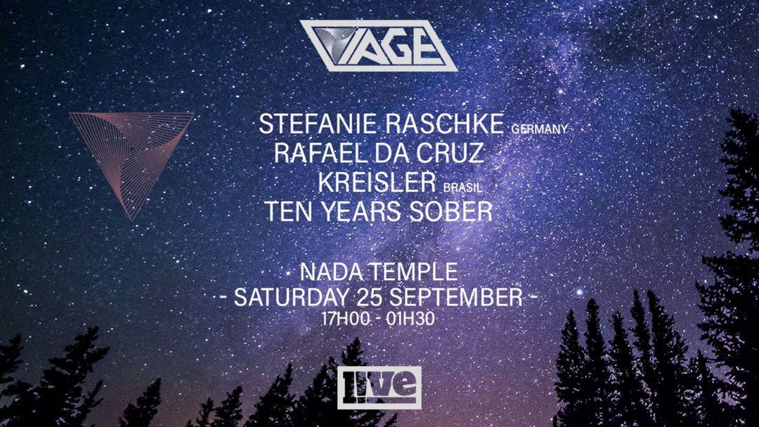 Cartel del evento VIAGE w/ Stefanie Raschke [Germany] + Rafael da Cruz