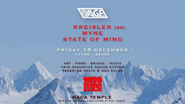 Cover for event: VIAGE x LIVE Lisboa Xmas Expedition