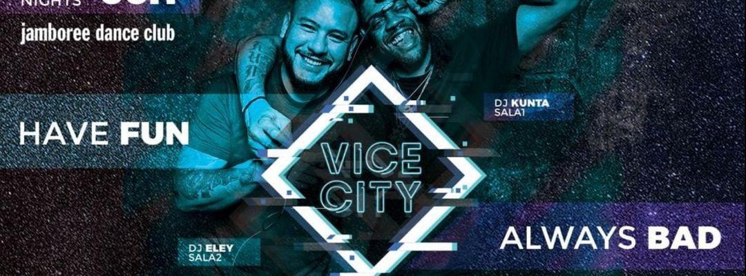 Cartell de l'esdeveniment Vice City