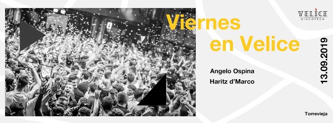 Couverture de l'événement Viernes 13 de Septiembre · Velice Discoteca
