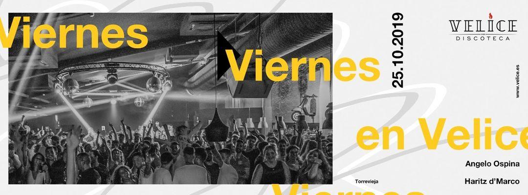 Viernes 25 de Octubre · Velice Discoteca-Eventplakat
