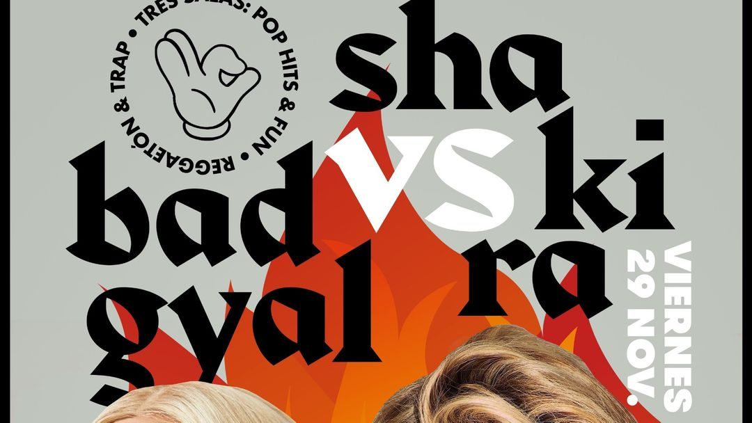 VIERNES 3 SALAS: Bad Gyal VS. Shakira #CUENCAclub event cover