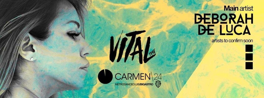 Cartel del evento Vital Fest :: Carmen24 :: 19 OCT