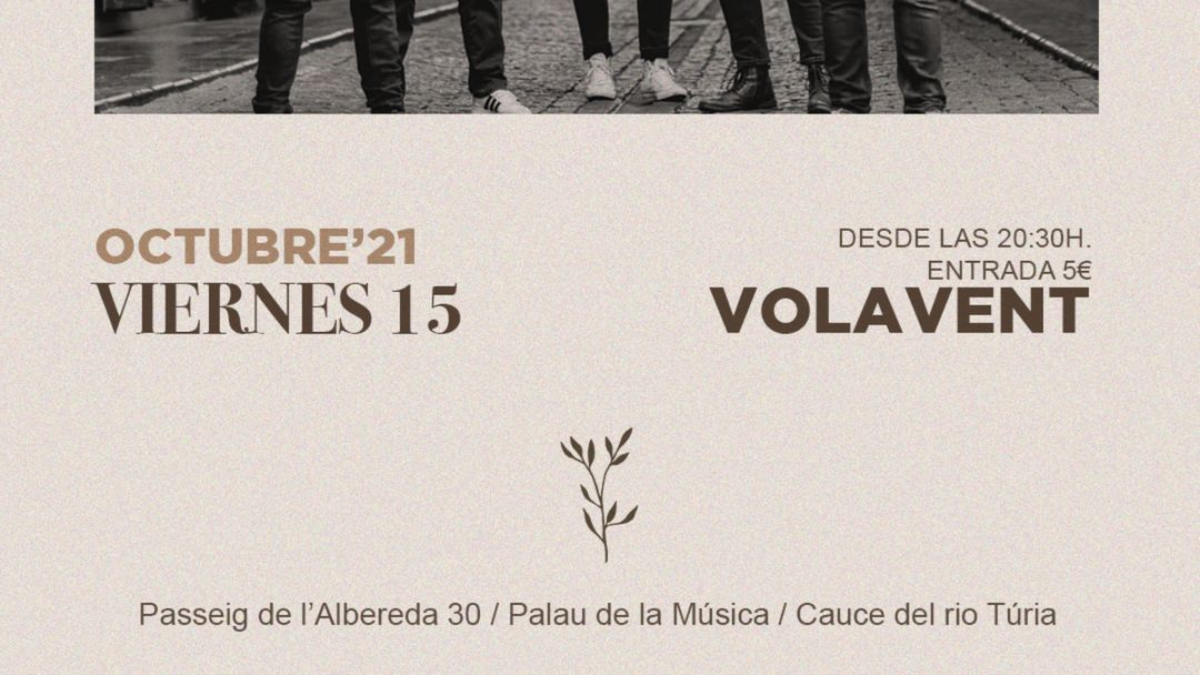 VOLAVENT. Concierto acústico. event cover