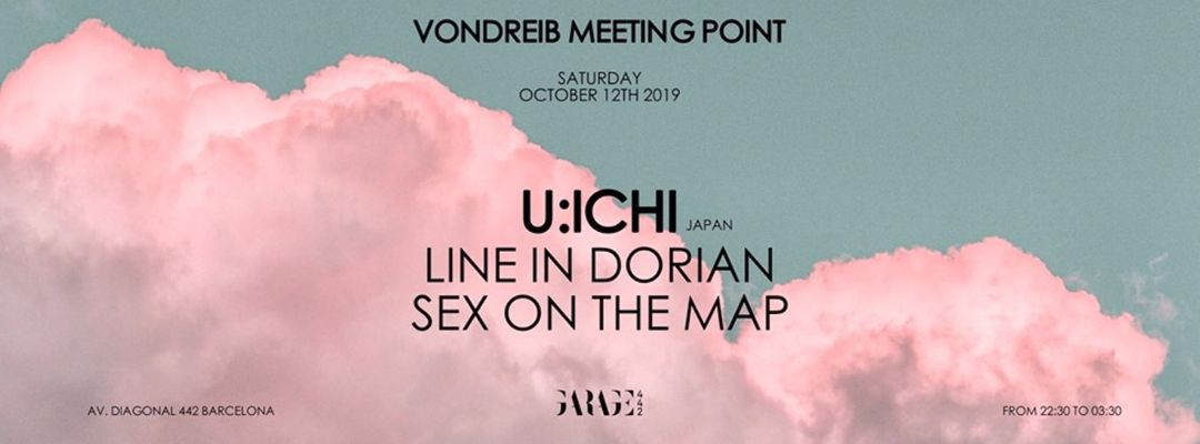 Cartel del evento Vondreib Meeting Point