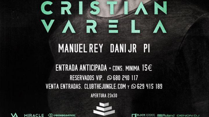 Cover for event: ¡Vuelve CRISTIAN VARELA a la Jungla el 30/10!
