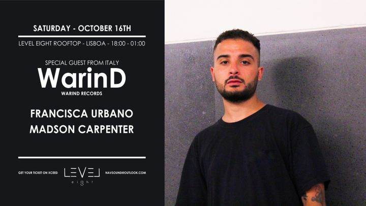 Cover for event: WarinD (Italy) at Level Eight Rooftop