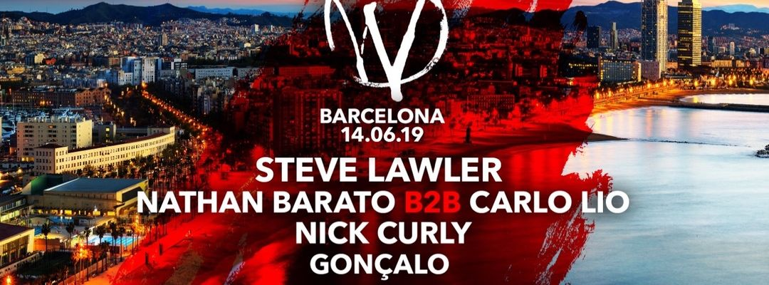 Cartel del evento WARRIORS pres. Steve Lawler, Nathan Barato b2b Carlo Lio and Nick Curly