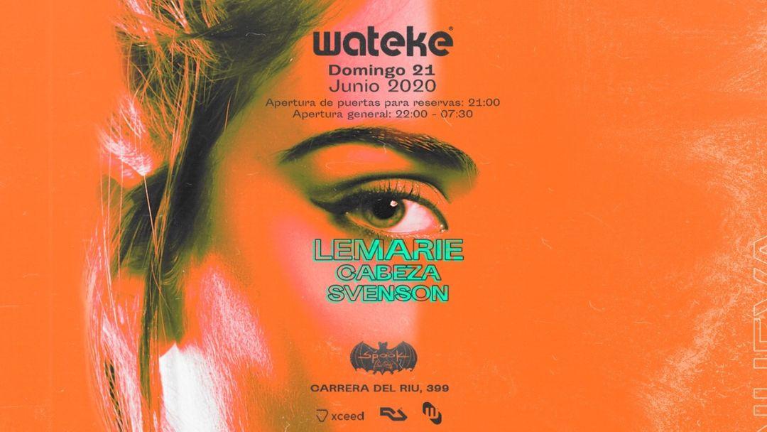 Wateke · Spook Multiespacio event cover