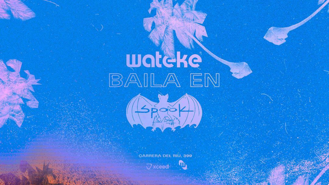 Cartel del evento WATEKE · SPOOK
