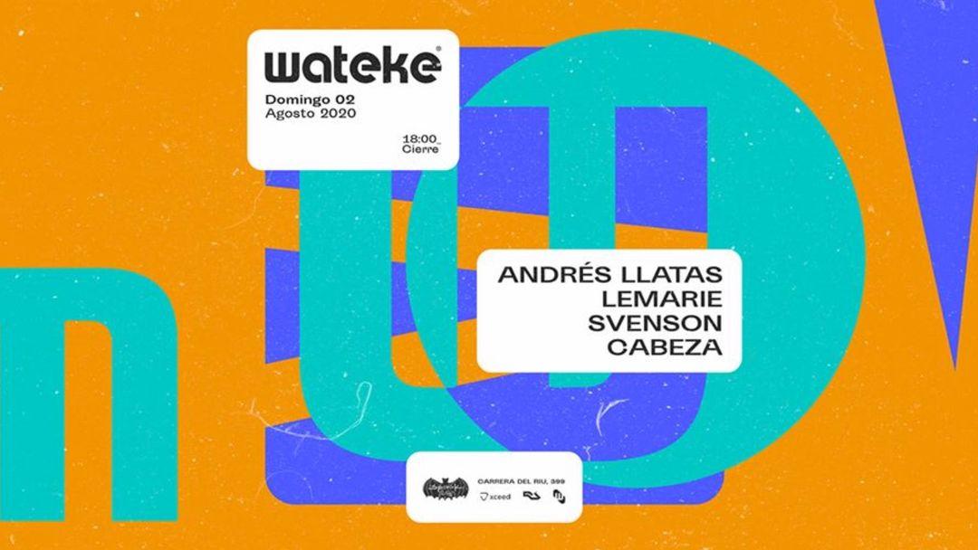 Wateke · Terrace @ Spook Multiespacio event cover