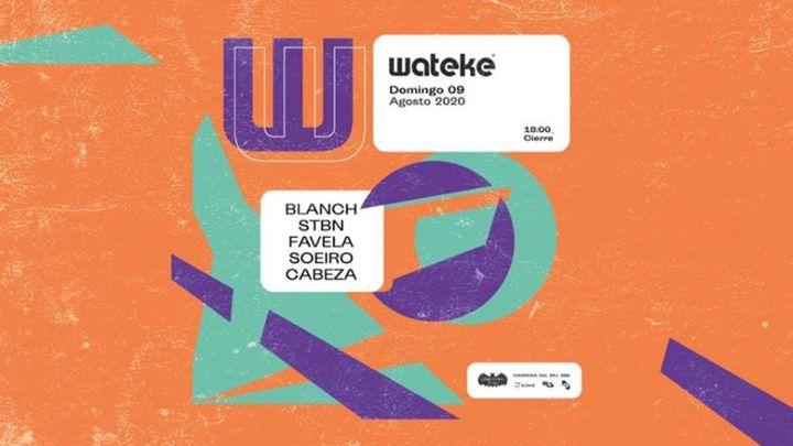 Cover for event: Wateke · Terrace @ Spook Multiespacio