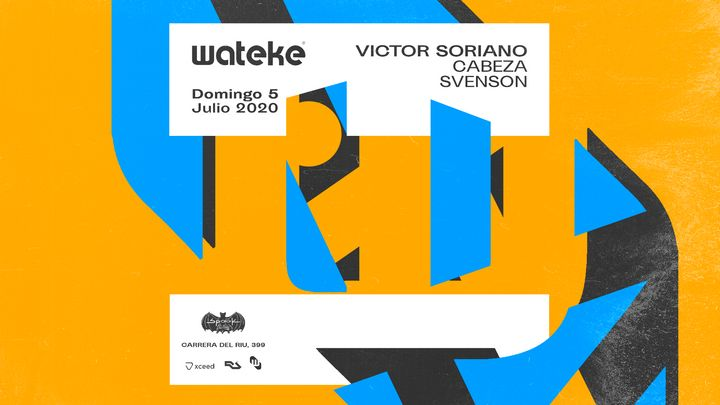 Cover for event: Wateke · Terrace @ Spook Multiespacio